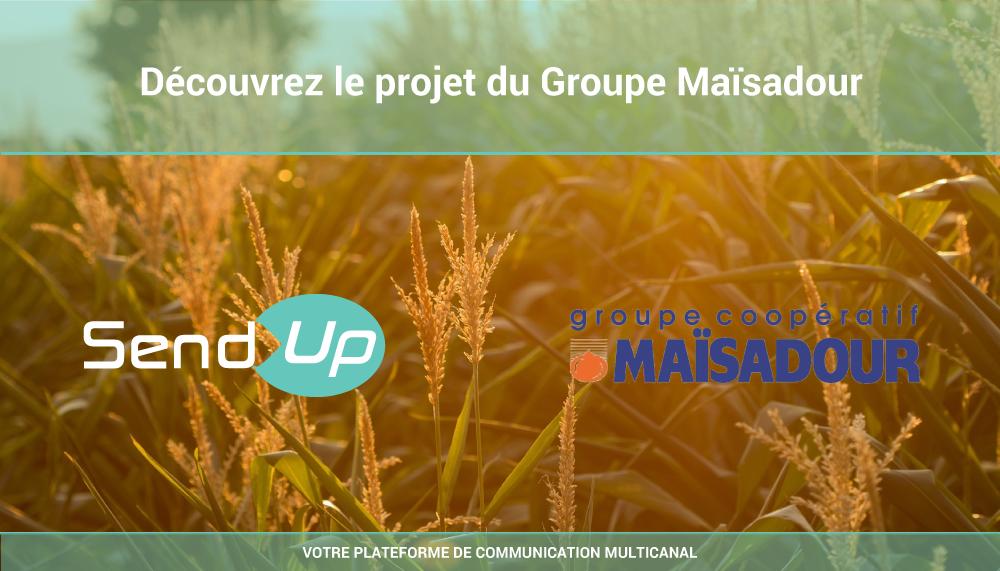 Use Case #1 : La landing page chez Le groupe Maïsadour