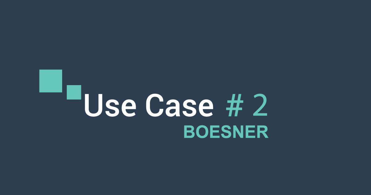 Use Case #2 : Boesner et la communication multicanal