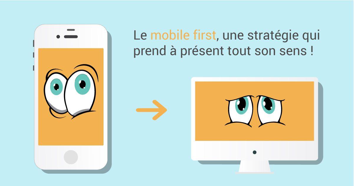 Le mobile first, une stratégie qui prend à présent tout son sens