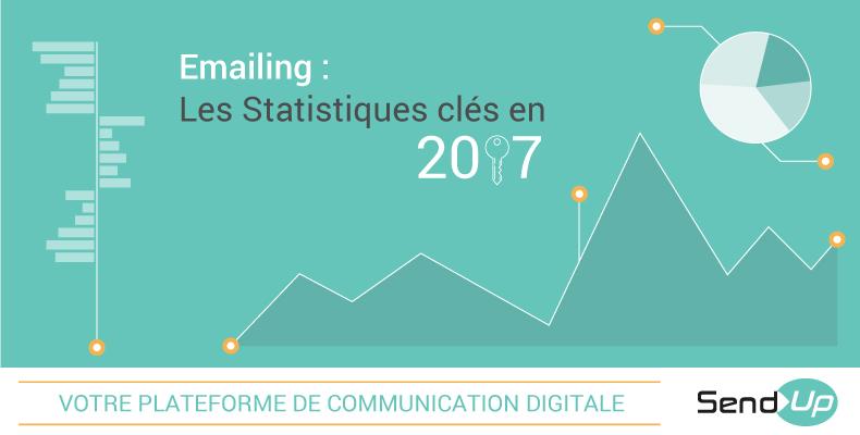 emailing statistiques clés 2017